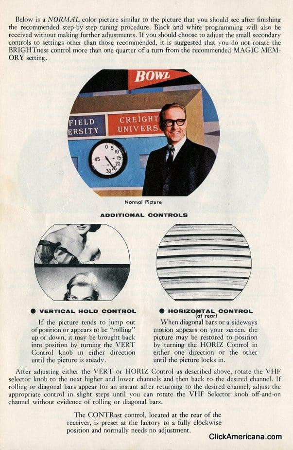 GE TV manual