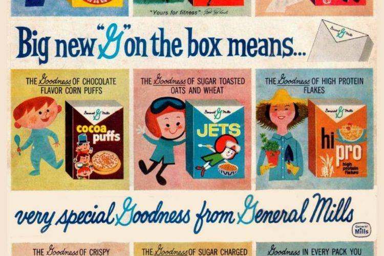 8 Vintage Breakfast Cereals From General Mills 1960 Click Americana