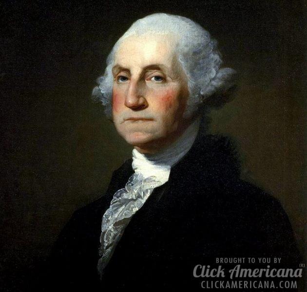 The death of President George Washington (1799)