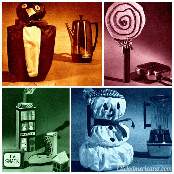 Creative ways to wrap oddly-shaped gifts (1963)
