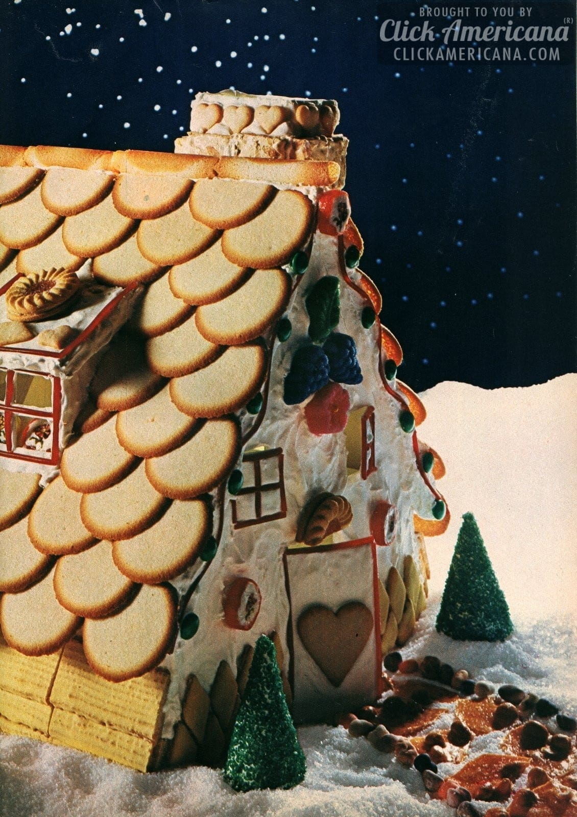 Make a cookie house for Christmas (1967)