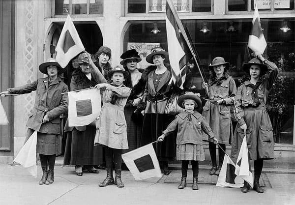 Girl Scouts: Are you prepared? (1919)
