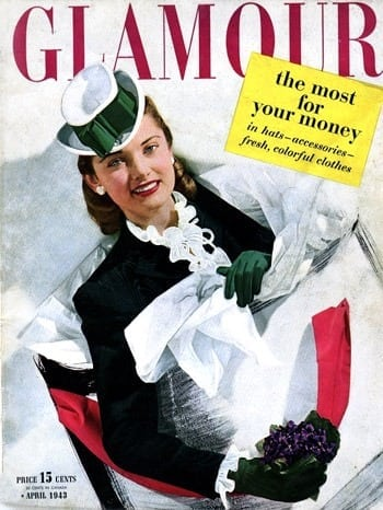 That healthy glow is sought by 1943 beauty