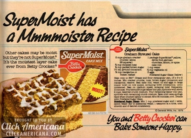 Graham streusel cake 1979 click americana for October recipes