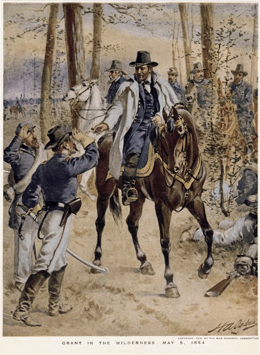 Grant in the wilderness - May 5, 1864