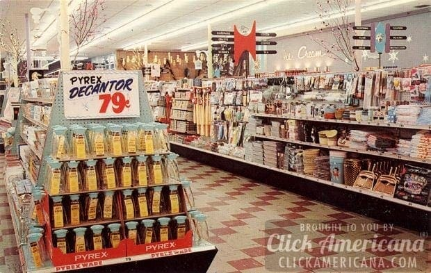 Inside grocery stores amp supermarkets of yesteryear click americana