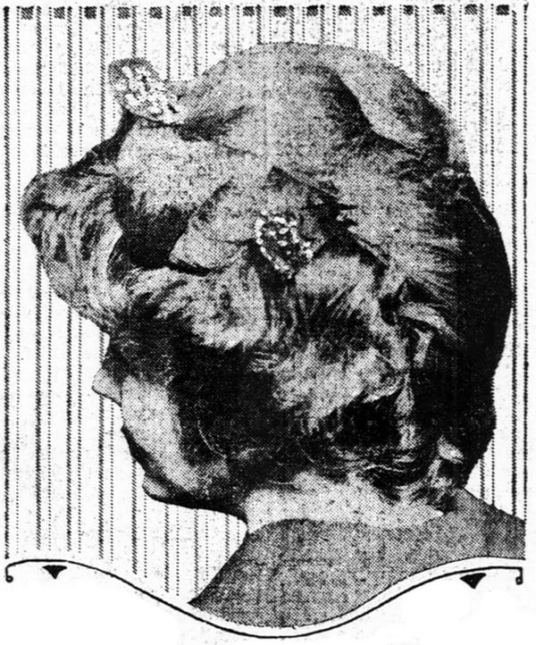 Fashionable hairstyles for the larger woman (1915)