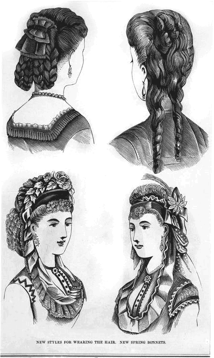 The Hottest Hairstyles From 1870 Click Americana