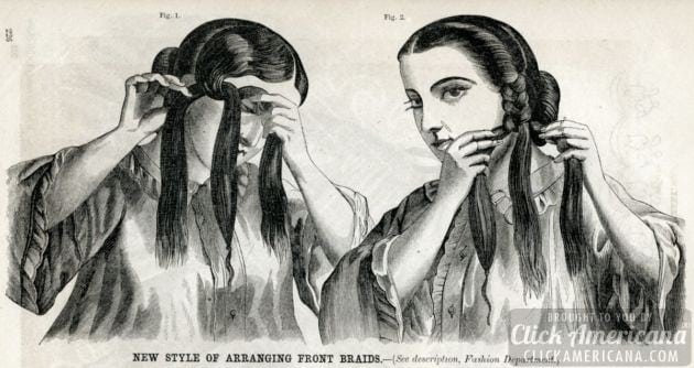 Why long hair is a burden to Civil War era women (1862)