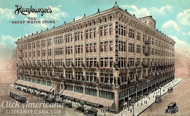 The revolutionary new Hamburger department store (1908)