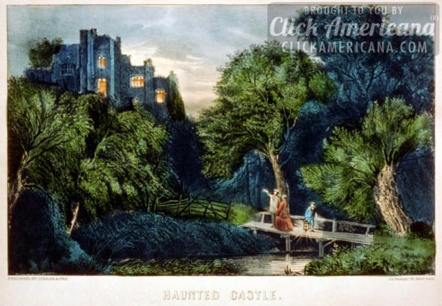 haunted-castle-currier-ives