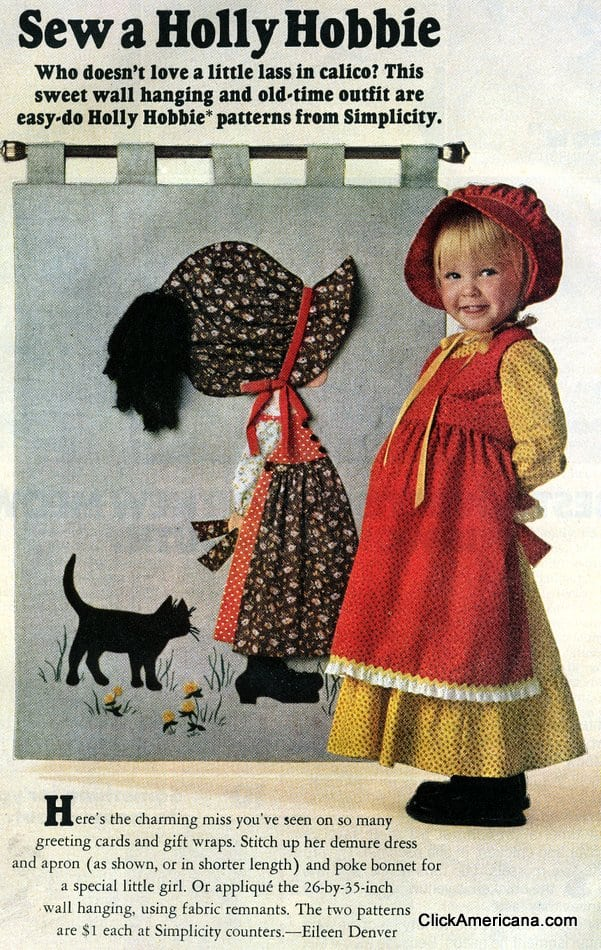Sew a Holly Hobbie (1975)