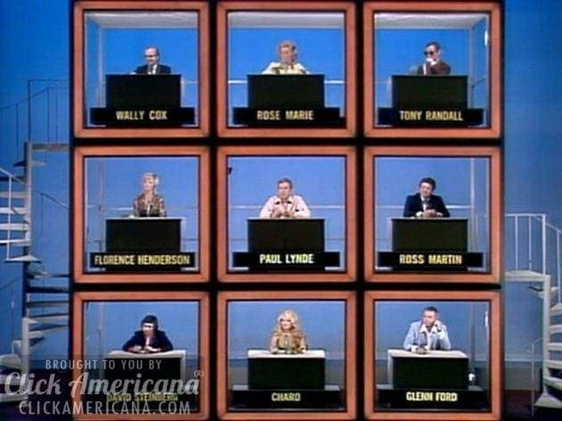 The Hollywood Squares game show intro (1966)