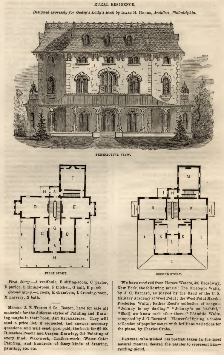 home designs floorplans from 1863 (2)