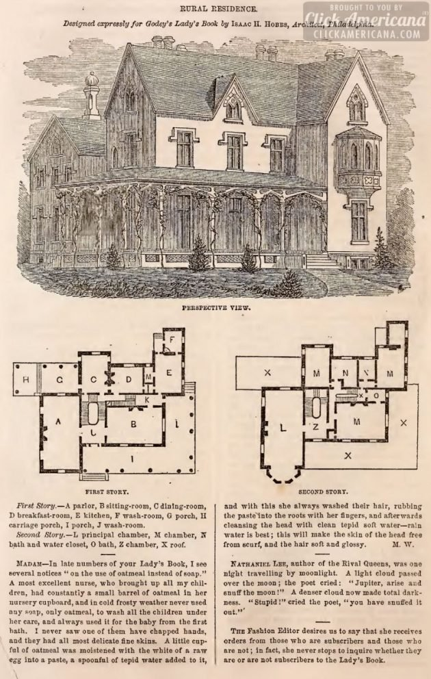 home designs floorplans from 1863 (3)