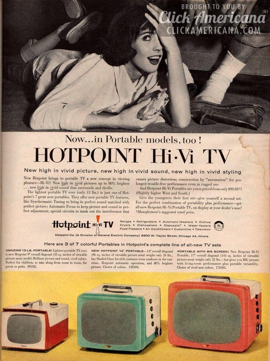 New Hotpoint Hi-Vi TV (1956)