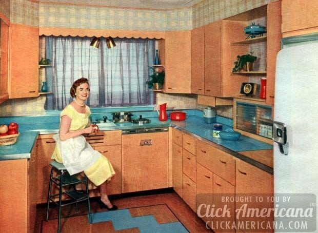 housewife-joy-kitchen-may-1956