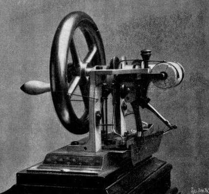 The progress of the sewing machine (1909)