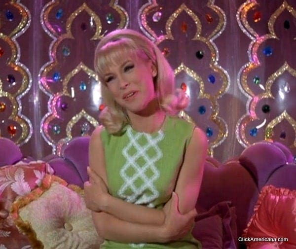 I Dream of Jeannie: Inside the bottle (1966) - Click Americana