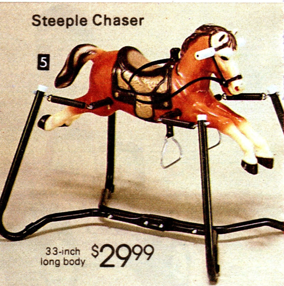 intage ride-on spring horse toys from the 1980s (4)