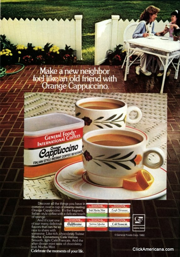 International coffee ads (1981-1988)