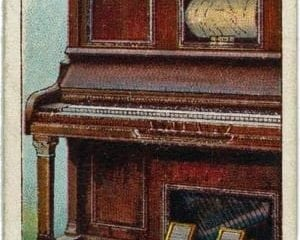 Inventions: Automatic piano-player (c1923-1930)