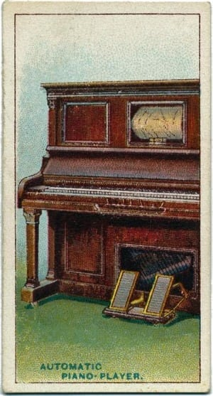 Famous invention cards (1902-1930)