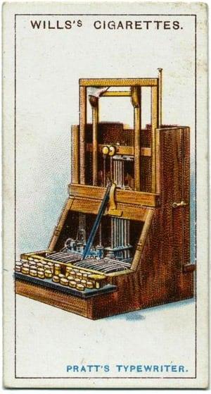 Inventions: Pratt's typewriter