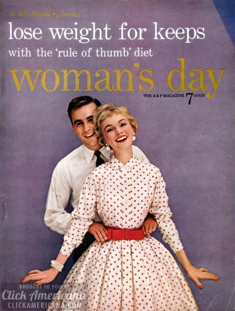 Housewife heaven! Woman's Day magazine covers from 1951-1959