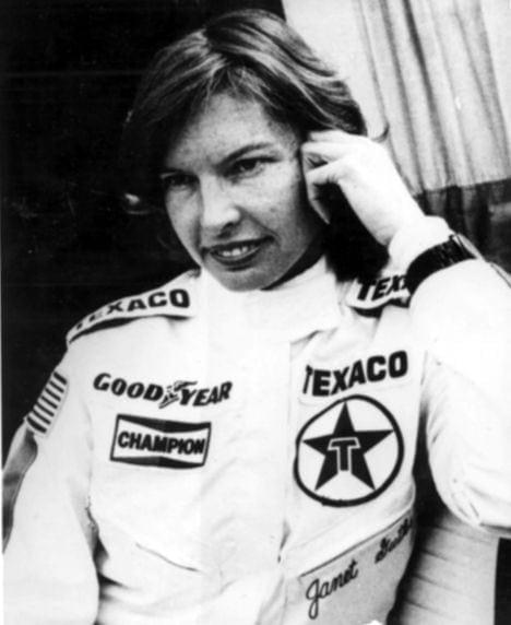 Janet Guthrie breaks the gender barrier (1977)