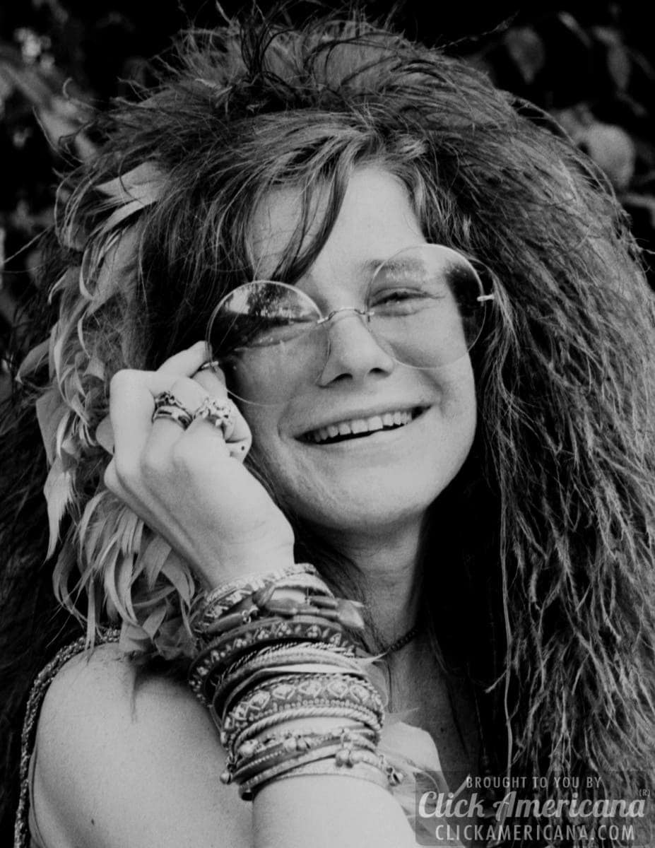 Janis Joplin round glasses