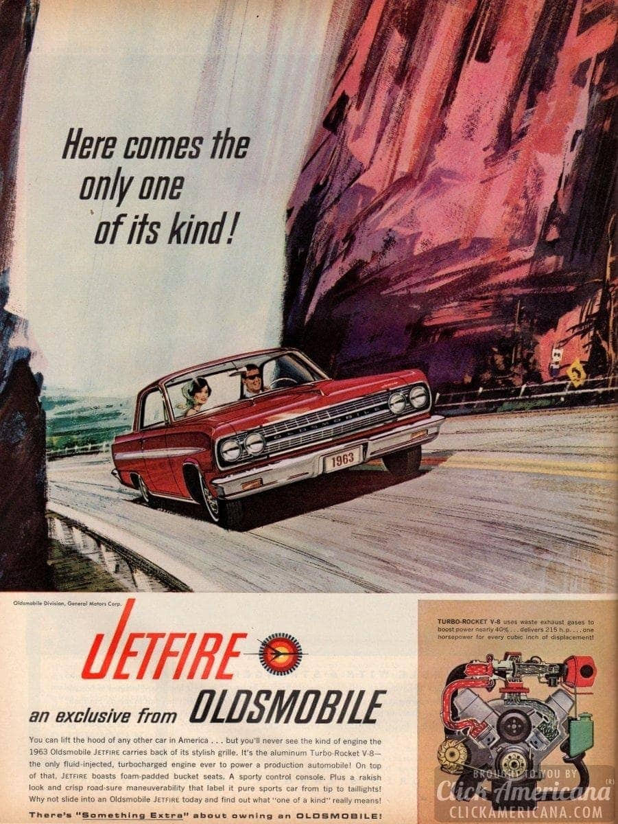 Jetfire – an exclusive from Oldsmobile (1963)