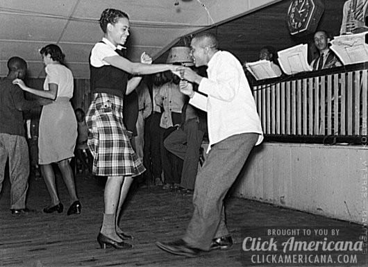 Jitterbugging in juke joint in Memphis, Tennessee - November 1939