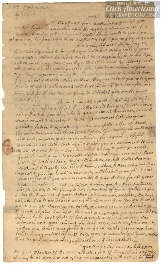 john-quincy-adams-letter-from-mother