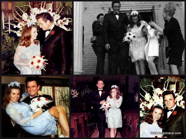 June Carter Johnny Cash Are Married