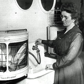 The woman who invented the dishwasher (1892)