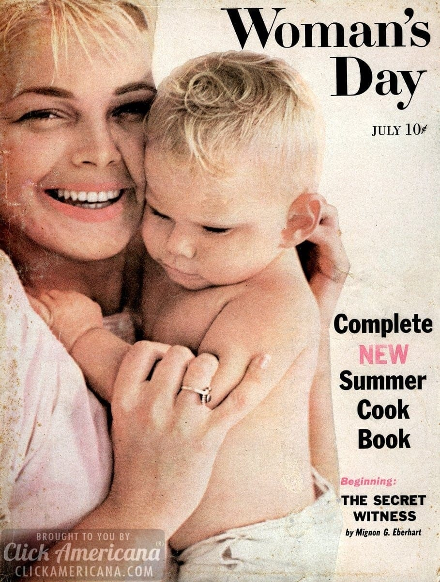 Woman's Day magazine cover: July 1958