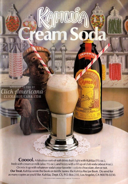 Kahlua cream soda re