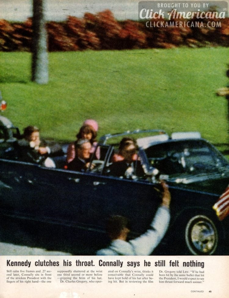President Kennedy's assassination: Zapruder footage