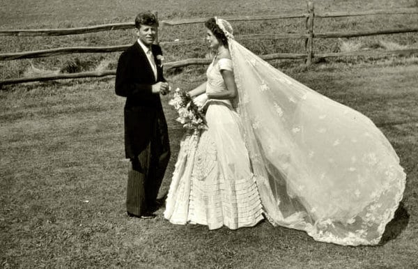 The Bouvier-Kennedy wedding (1953)