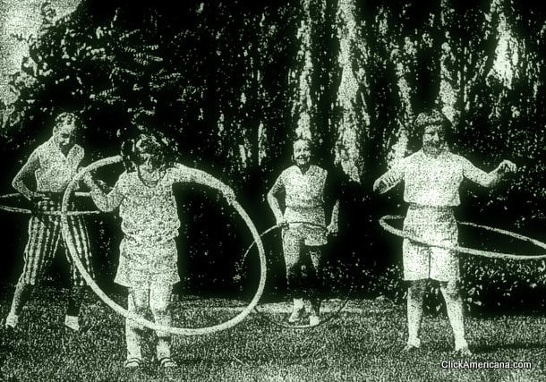 Hula Hoopers Are Whooping It Up 1958 Click Americana