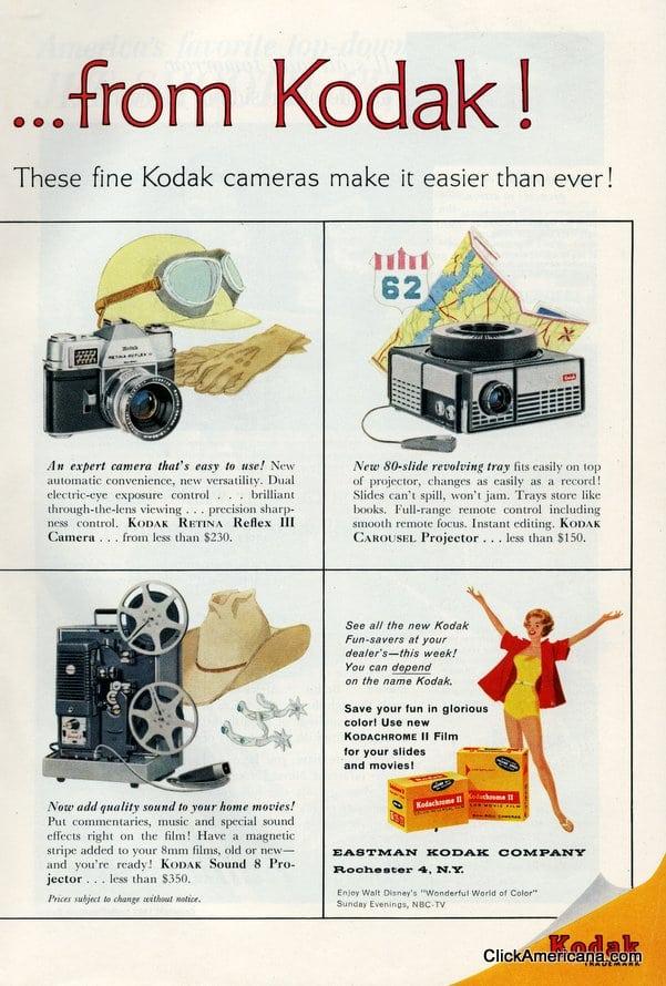 Summer fun-savers for '62 from Kodak (1962)