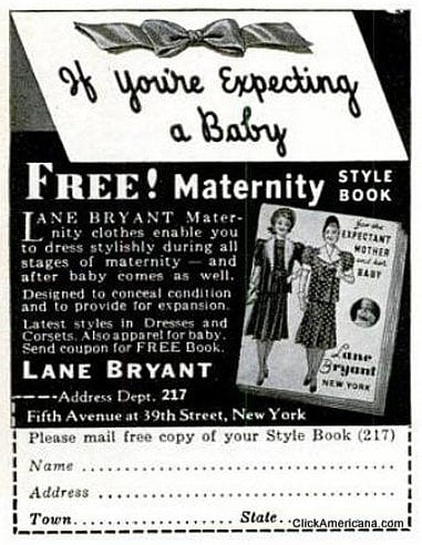 Maternity style book - Lane Bryant maternity clothes