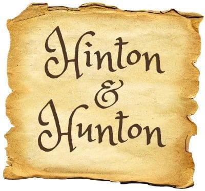 About the last names Hunton & Hinton (1920)