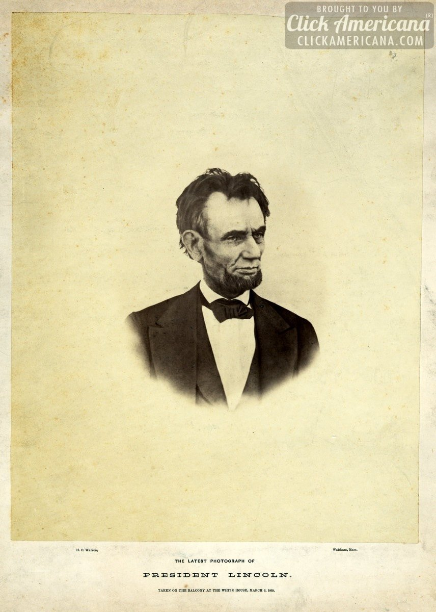 See the last photograph ever taken of Abraham Lincoln (1865)