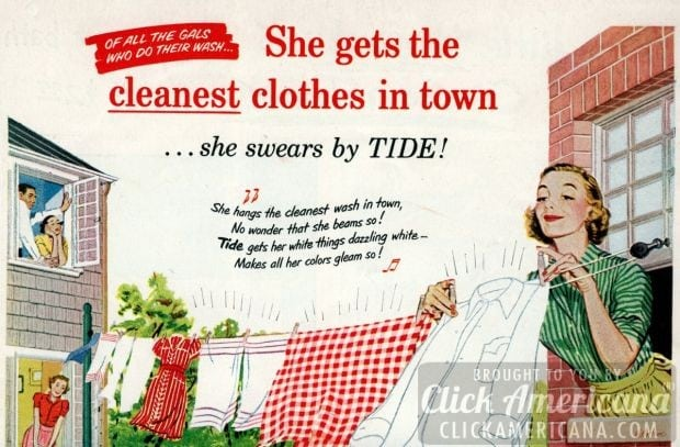 Laundry superiority from 1952