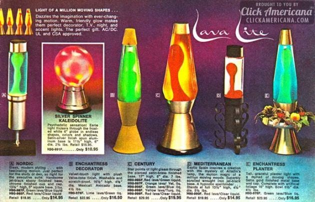 Lava Lite: They're like wild - way out! (1967) - Click ...