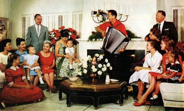 At home with Lawrence Welk (1960)