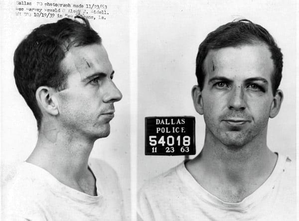 Lee Harvey Oswald's Dallas police info (1963)