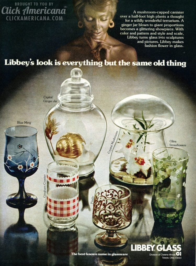 Libbey's look is everything but the same old thing (1974)